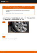 Værkstedshåndbog til VW T3 Transporter