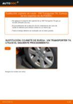 Cómo cambiar: cojinete de rueda de la parte delantera - VW Transporter T4 | Guía de sustitución