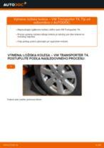 Ako vymeniť a regulovať Lozisko kolesa VW TRANSPORTER: sprievodca pdf