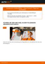 Wie Wischblattsatz Front + Heckscheibe beim OPEL CORSA C (F08, F68) tauschen - Online-Anweisung