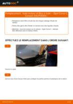 Comment changer : huile moteur et filtre huile sur Opel Corsa C essence - Guide de remplacement
