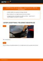 MANN-FILTER W 712 til Corsa C Hatchback (X01) | PDF udskiftnings guide