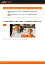 Hvordan bytte og justere Drivstoffilter OPEL CORSA: pdf håndbøker