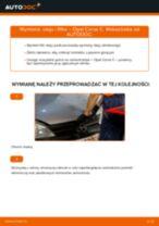Jak wymienić oleju silnikowego i filtra w Opel Corsa C benzyna - poradnik naprawy