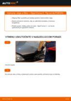 Vymeniť Olejový filter na aute OPEL CORSA C (F08, F68) - tipy a triky