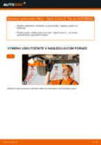 Návod na riešenie problémov: OPEL CASCADA manuál