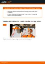 Kako zamenjati avtodel filter goriva na avtu Opel Corsa C bensin – vodnik menjave