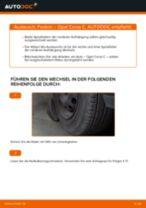 Wie Frontscheibenwischermotor OPEL CORSA tauschen und einstellen: PDF-Tutorial