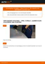PDF handleiding voor vervanging: Bougies OPEL Corsa C Hatchback (X01)
