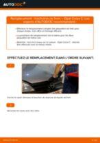 Comment changer : mâchoires de frein arrière sur Opel Corsa C essence - Guide de remplacement
