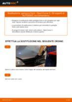 Come cambiare ganasce freno della parte posteriore su Opel Corsa C benzina - Guida alla sostituzione