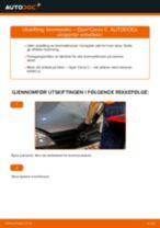 Slik bytter du bremsesko bak på en Opel Corsa C bensin – veiledning