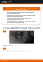 Jak wymienić poduszka amortyzatora przód w Opel Corsa C benzyna - poradnik naprawy