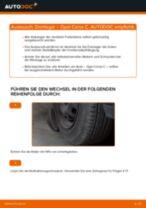 Wie Opel Corsa C Benzin Domlager vorne wechseln - Schritt für Schritt Anleitung