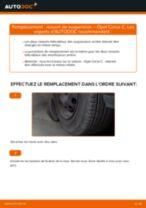 Comment changer : ressort de suspension arrière sur Opel Corsa C essence - Guide de remplacement