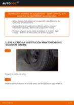 Cambio Muelles delanteras izquierda derecha OPEL bricolaje - manual pdf en línea