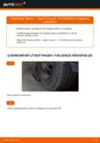 Bytte Opphengingsfjær bak og foran OPEL gjør-det-selv - manualer pdf på nett