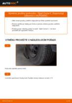 Jak vyměnit zadní pružiny podvozku na Opel Corsa C benzín – návod k výměně