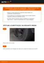 Como mudar molas de suspensão da parte traseira em Opel Corsa C gasolina - guia de substituição