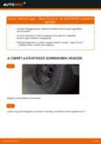Autószerelői ajánlások - OPEL Opel Corsa S93 1.2 i 16V (F08, F68, M68) Lengéscsillapító csere
