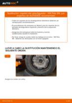 Cómo cambiar: copelas del amortiguador de la parte delantera - VW Polo 9N | Guía de sustitución