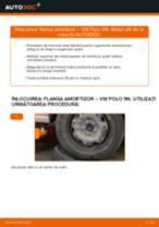 Cum să schimbați: flansa amortizor din spate la VW Polo 9N | Ghid de înlocuire