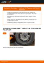 Wie VW Polo 9N Domlager hinten wechseln - Anleitung