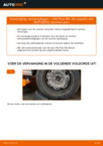Hoe veerpootlager vooraan vervangen bij een VW Polo 9N – vervangingshandleiding