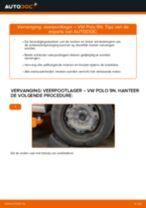 Hoe veerpootlager achteraan vervangen bij een VW Polo 9N – vervangingshandleiding