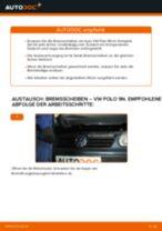 Wie Bremsscheibe VW POLO wechseln und einstellen: PDF-Leitfaden