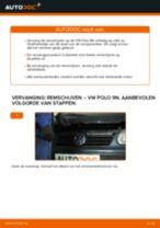 Ruitenwisserstangen vervangen VW POLO: gratis pdf