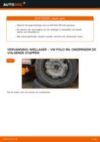 Hoe Wiellagerset veranderen en installeren VW POLO: pdf handleiding