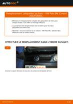 Montage Kit de plaquettes de frein VW POLO (9N_) - tutoriel pas à pas