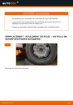 Tutoriel PDF étape par étape sur le changement de Roulement De Roues sur VW Ameo (631)