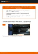 Lær hvordan du løser VW Bremseklodser foran og bag problemet