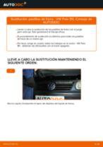 Cómo cambiar: pastillas de freno de la parte trasera - VW Polo 9N | Guía de sustitución