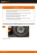 Jak wymienić poduszka amortyzatora przód w VW Polo 9N - poradnik naprawy