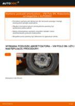 Jak wymienić poduszka amortyzatora tył w VW Polo 9N - poradnik naprawy