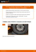 Ako vymeniť predné horné uloženie tlmiča na VW Polo 9N – návod na výmenu
