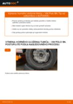 Montáž Ložisko tlmiča VW POLO (9N_) - krok za krokom príručky