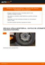 Avtomehanična priporočil za zamenjavo VW Polo 9n 1.2 12V Konec jarmovega droga
