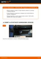 Hátsó fékbetétek-csere VW Polo 9N gépkocsin – Útmutató