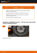 Pakeisti Amortizatoriaus Atraminis Guolis VW POLO: instrukcija