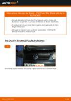 Cum să schimbați: plăcuțe de frână din spate la VW Polo 9N | Ghid de înlocuire