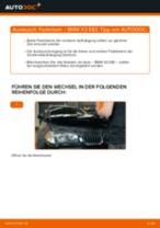 BMW X3 (E83) Radlagersatz: Online-Handbuch zum Selbstwechsel