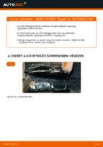 BMW X3 Gólyaláb cseréje : ingyenes pdf