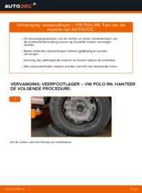 Vervangen: Veerpootlager VW POLO