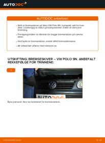 Slik bytter du Bremseskiver på VW POLO