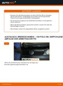Wie man Bremsscheiben beim VW POLO austauscht? Lesen Sie unseren ausführlichen Leitfaden und erfahren Sie, wie es geht.