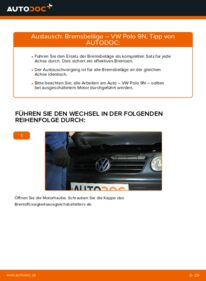 Wie man Bremsbeläge beim VW POLO austauscht? Lesen Sie unseren ausführlichen Leitfaden und erfahren Sie, wie es geht.